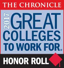 NFC Named Among 2017 Great Colleges to Work For Honor Roll