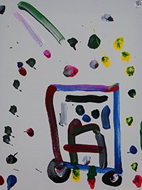 Art Touched by Autism Painting 6