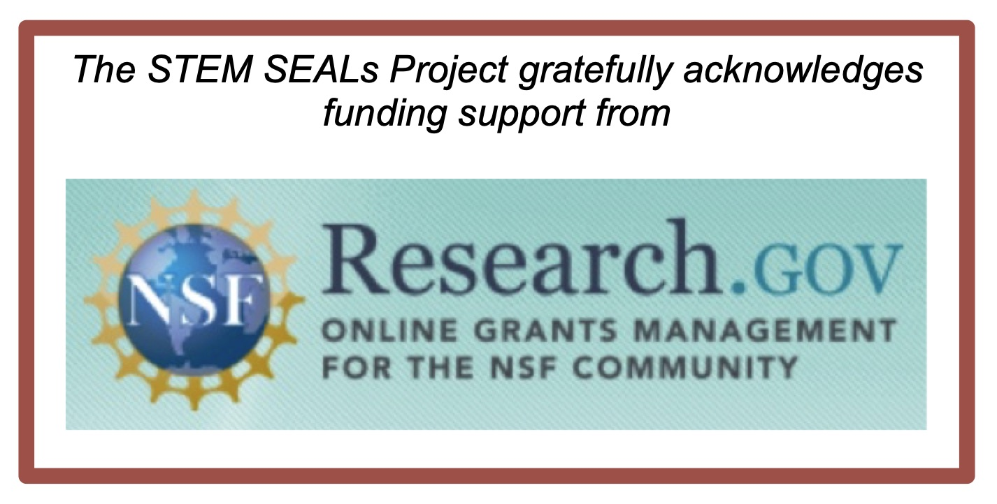 NSF Acknowledgement
