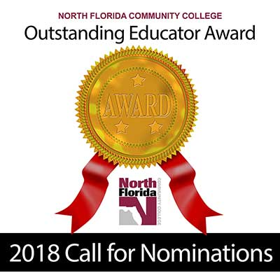 2018 NFC Educator of the Year Call for Nominations Image