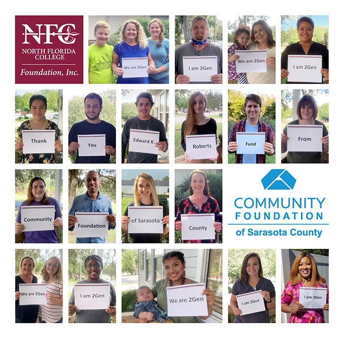 Thank You Community Foundation of Sarasota County Photo Collage 2020-201