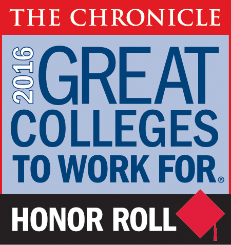 2016 Great Colleges to Work For Honor Roll Image
