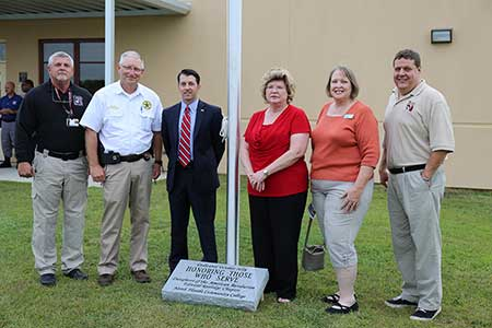 Flagpole Dedication Ceremony October 6 2016