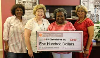 Madison Charmettes Donate $500 to NFCC Foundation