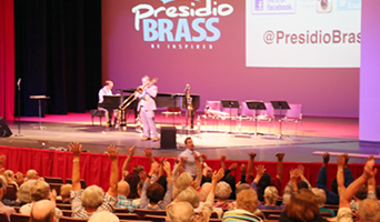 Presidio Brass performs at NFCC Sept 29 2017