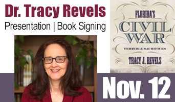 Dr. Tracy Revels Gives Author Presentation and Book Signing Nov 12 2017