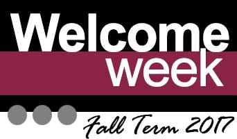 Welcome Week Graphic