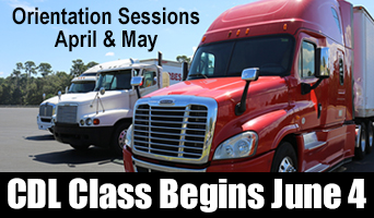 Register for June 2018 CDL Program