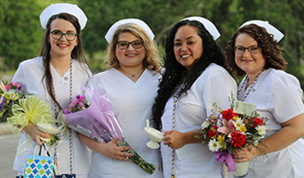 RN Class of 2018 Graduates at Pinning Ceremony May 8