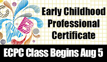 Enroll Now for Early Childhood Education Programs
