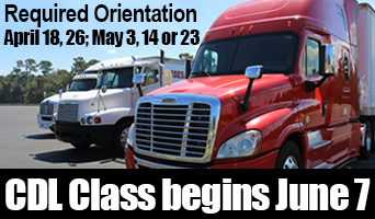 CDL Program Begins June 7