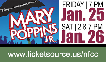 NFCC presents Mary Poppins JR Jan 25-26