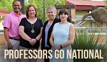 NFCC Professors Seleted to Present at National Conference