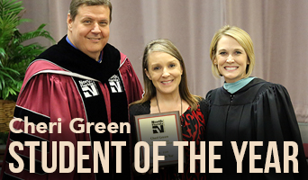 Cheri Green 2019 Student of the Year