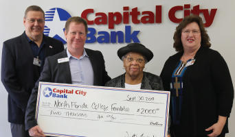 Capital City Bank Group Foundation Awards NFC $2000