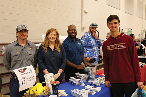 Tri-County Electric Cooperative at NFC 2020 Career and Transfer Fair