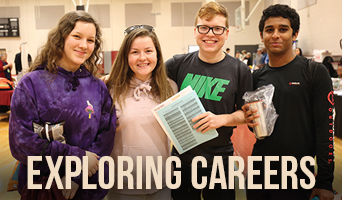 Students explore college and careers at NFC in January 2020