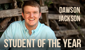 Dawson Jackson 2020 NFC Student of the Year