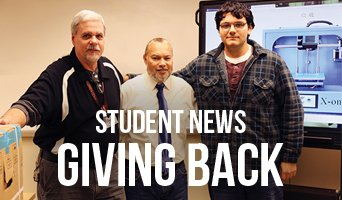 Student News Giving Back 2018