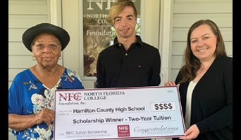 2020 HCHS Scholarship Winner Dwayne Benson Ball, Jr.