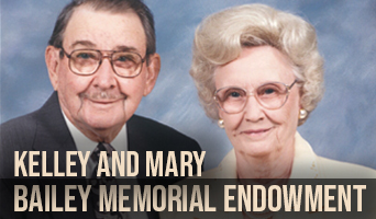 Kelley and Mary Bailey Memorial Endowment 2020