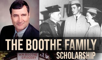 The Boothe Family Scholarship 2020