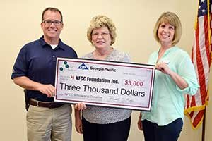 Foley Cellulose Donates to NFCC Foundation