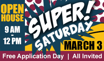 Super Saturday is March 3 2018