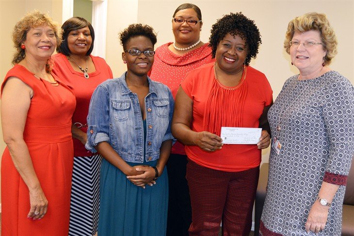 The Charmettes Madison County Chapter Donation November 2015
